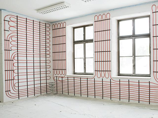 Riscaldamento a parete o soffitto